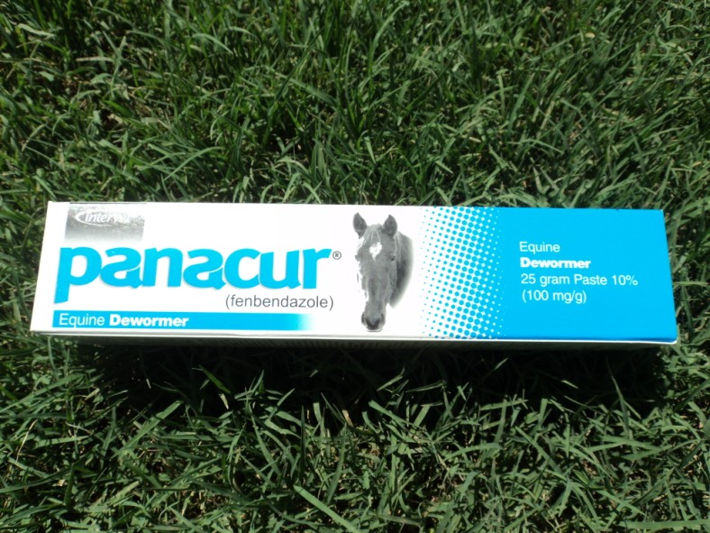Panacur (Fenbendazole) animal de-wormer