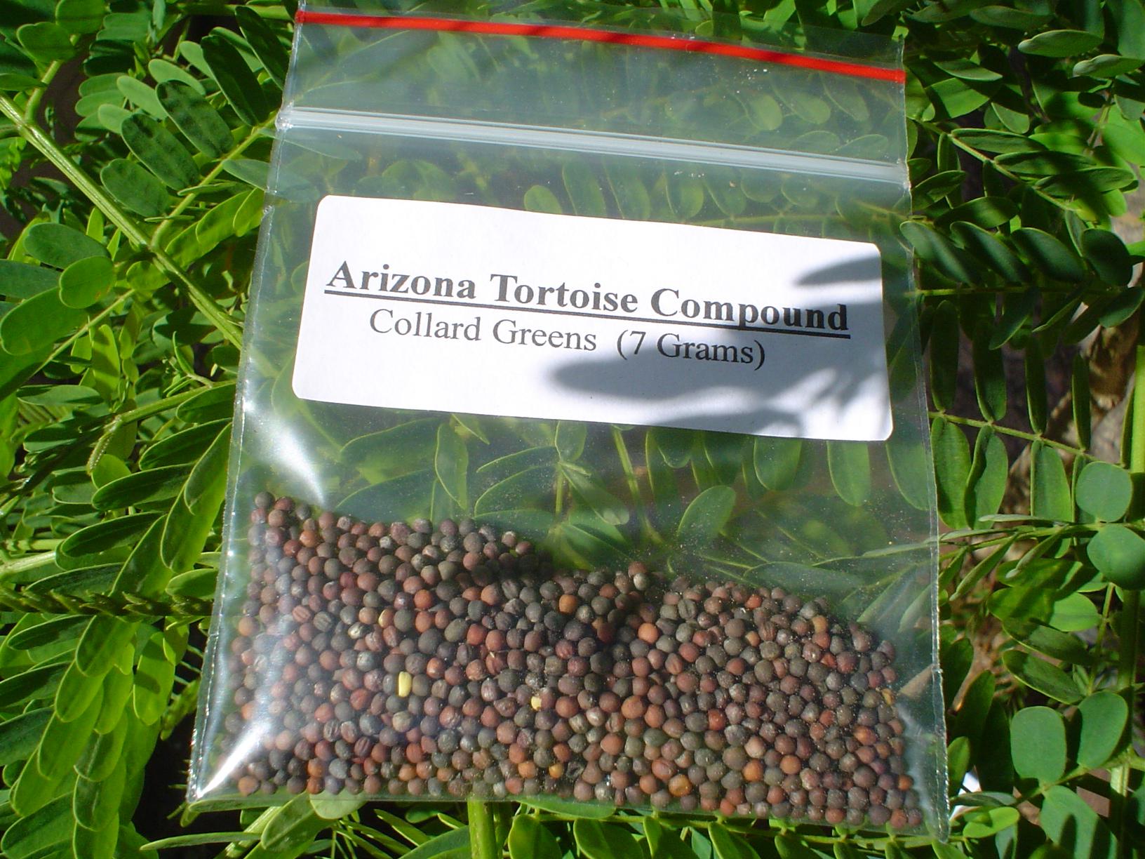 Collard Greens Seed Packet