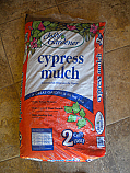 Cypress Mulch 2cuft. bag