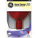 Red Heat Lamp 250W