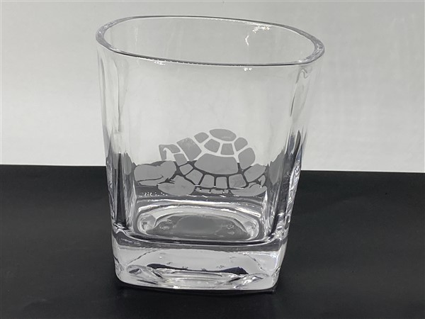 A.T.C. Custom Etched Whiskey Glass