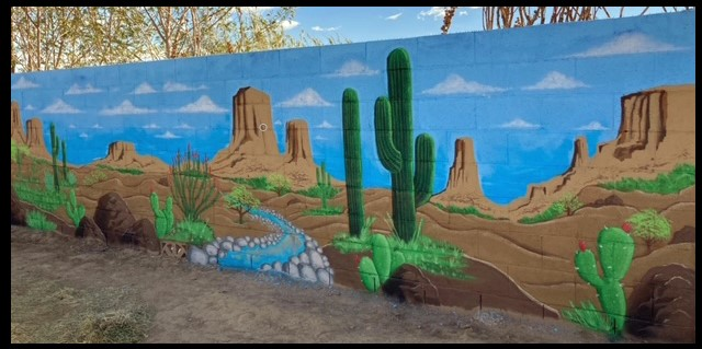 Custom Hand Painted Murals