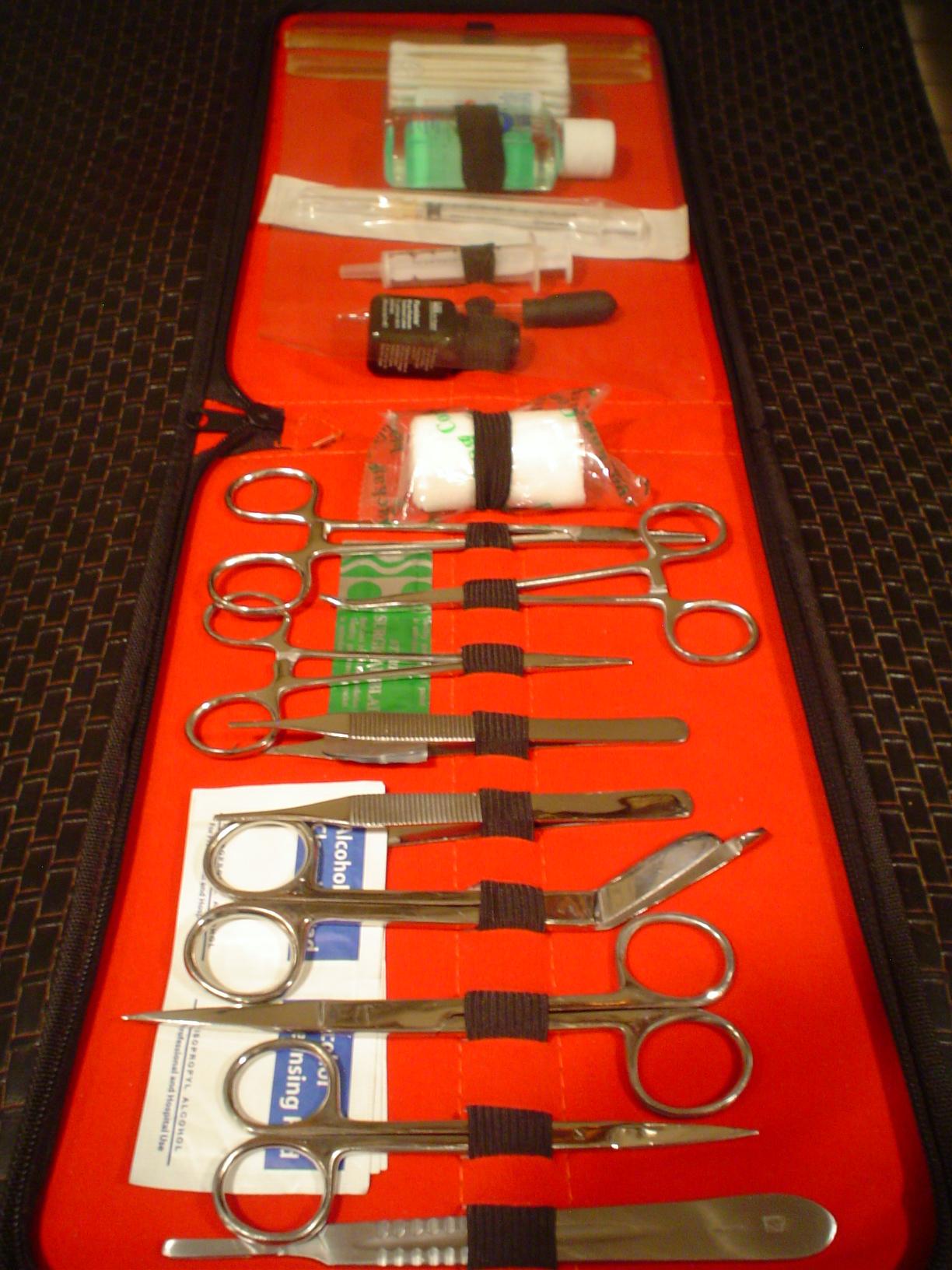 Medical Kit for Tortoises