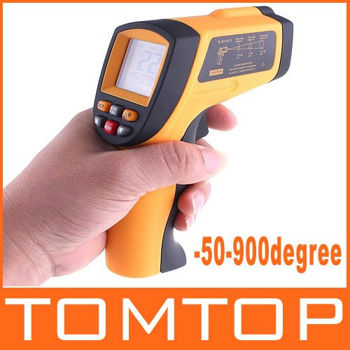 Digital LCD Non-Contact IR Infrared Thermometer Gun